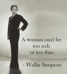 Thin Rich Woman