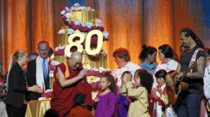 Dalai Lama 80th Birthday
